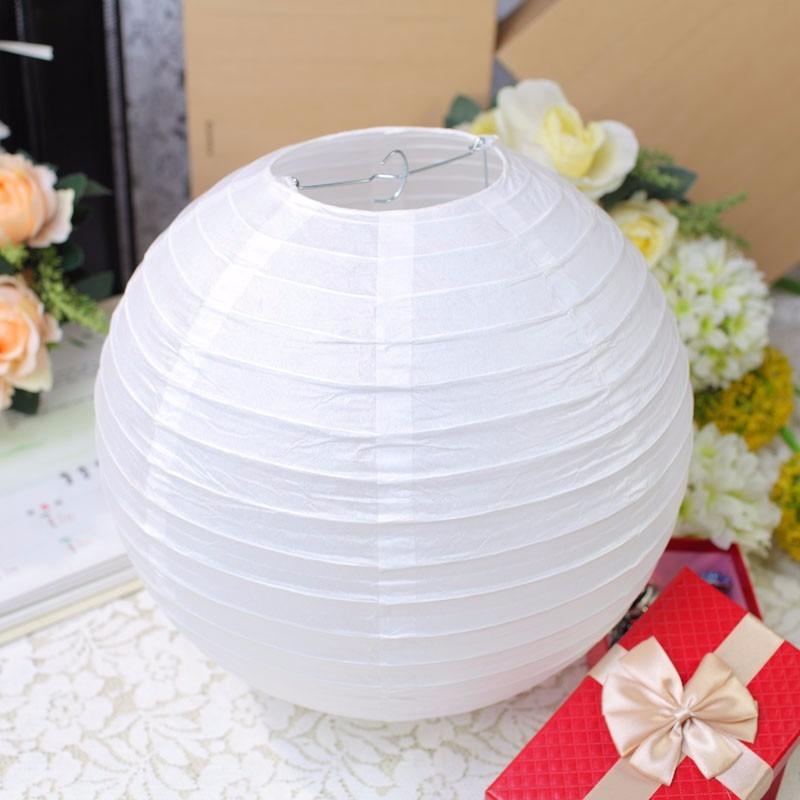50 lamparas chinas 30cm blancas decoracion para boda - Decoracion de lamparas de papel ...