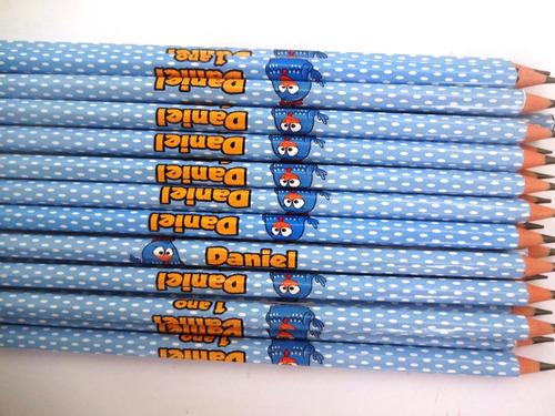 50 lápis personalizados