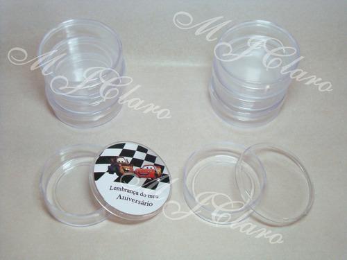 50  latinhas  mint to be transparente p/ fazer lembrancinhas