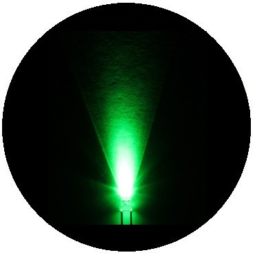 50 leds ultrabrillantes de 3mm --- verdes