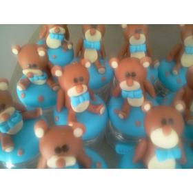 50 Lembrancinhas De Ursinho Em Potinhos