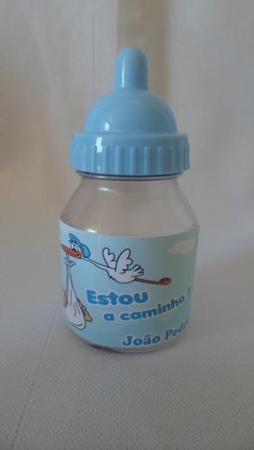 50 lembrancinhas mini mamadeira chá de bebê nascimento top