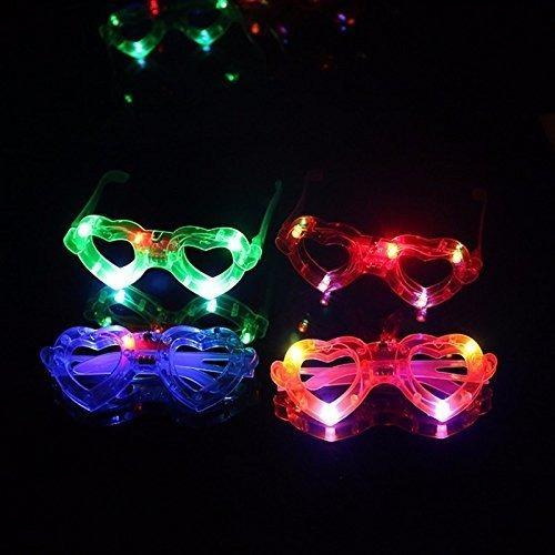 50 lentes luminosos para fiestas y eventos
