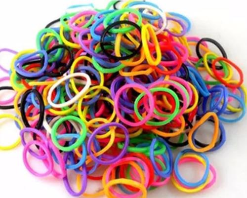 50 ligas para el cabello de colores