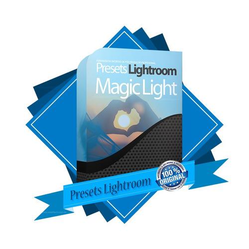 50 magic lights presets profissionais lightroom