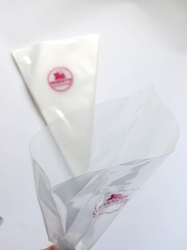 50 mangas pastelera repostera plástica mediana de 32 cm