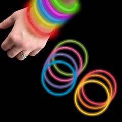 50 manillas neon antifaces carnaval fiestas regalo concierto