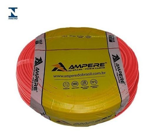 50 metros cabo elétrico flexível 10mm ampere full °