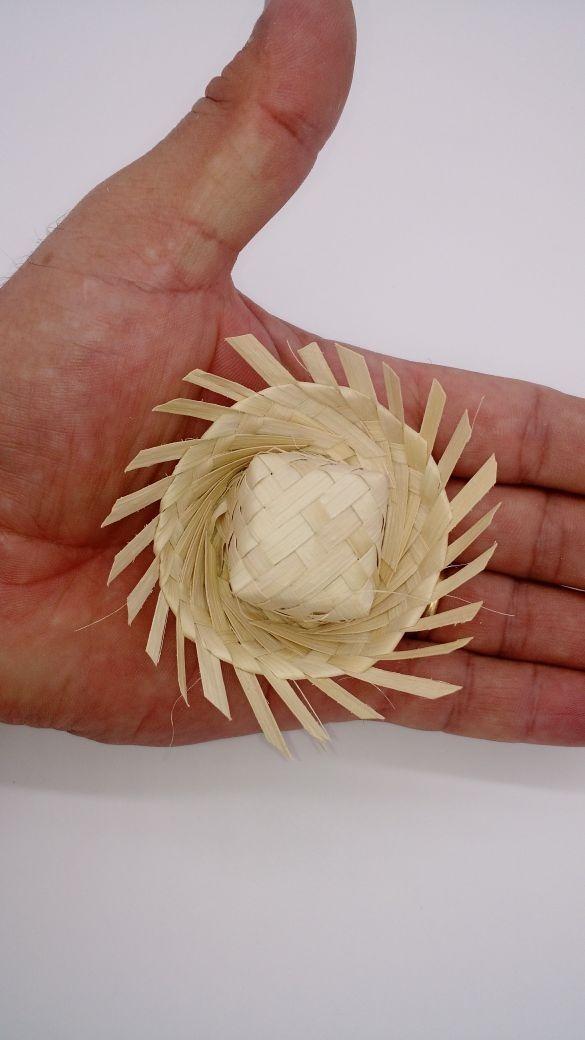 50 mini chapeu de palha infeite de festa junina. Carregando zoom. fc36aecda6c