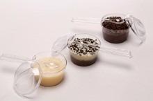 50 mini panelinha brigadeiro + colher brinde chá de panela