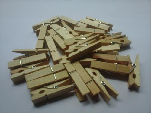 50 mini prendedores de papel - pregadores lembrancinha roup