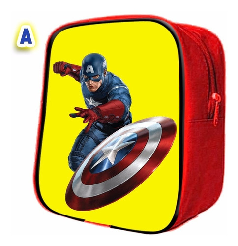 50 mochilitas dulcero advengers , iron man , capitan america