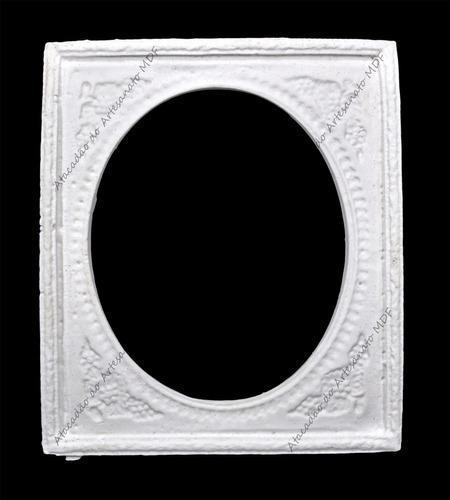 50 moldura espelho - 9x8 - resina