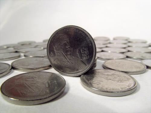 50 monedas de 1 peso  morelos envío gratis