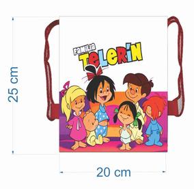 50 Morralitos Kids Familia Telerin Dulceros Personalizados
