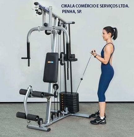 50 mts cabo aço revestido p/ academia fitness 1/8 x 4,8 mm
