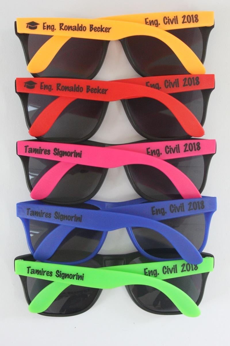 13fcc4a0f796a 50 Óculos Personalizado Color 2 Cores - Promo 50 Un - R  399