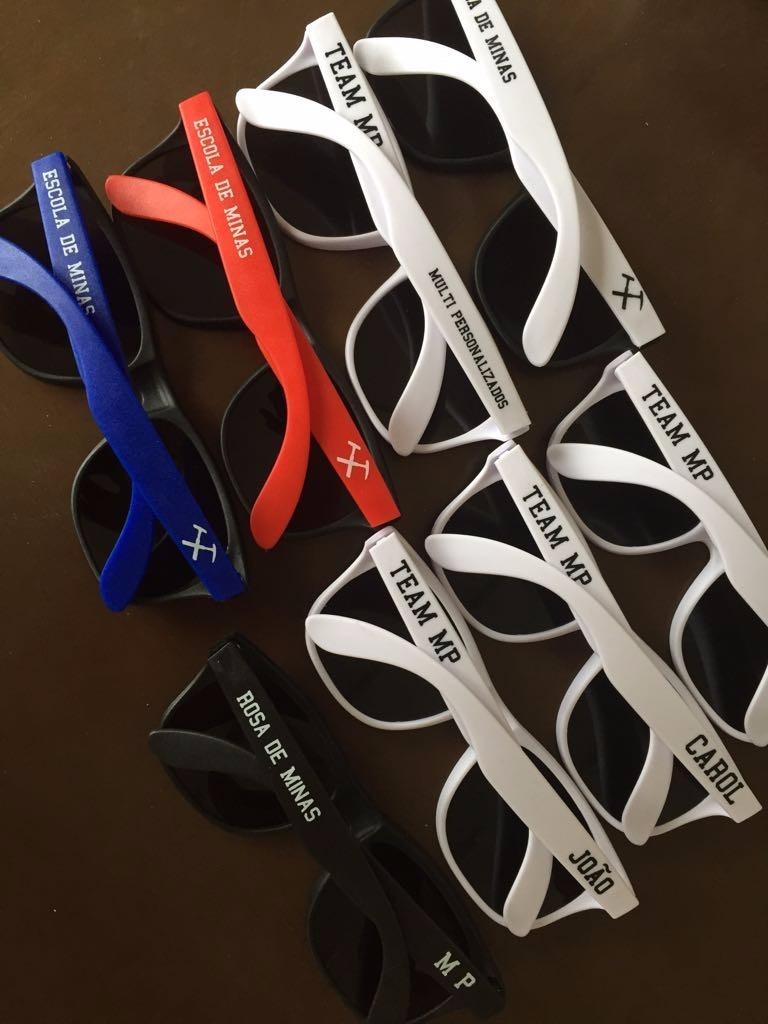 ff2bfd669f214 50 óculos personalizados - armação colorida quadrada fosca. Carregando zoom.
