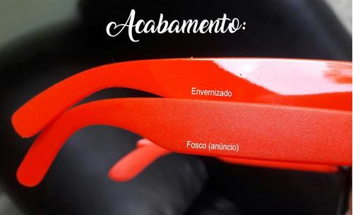 129508dc3166f 50 Óculos Personalizados - Armação Colorida Quadrada Fosca - R  405 ...
