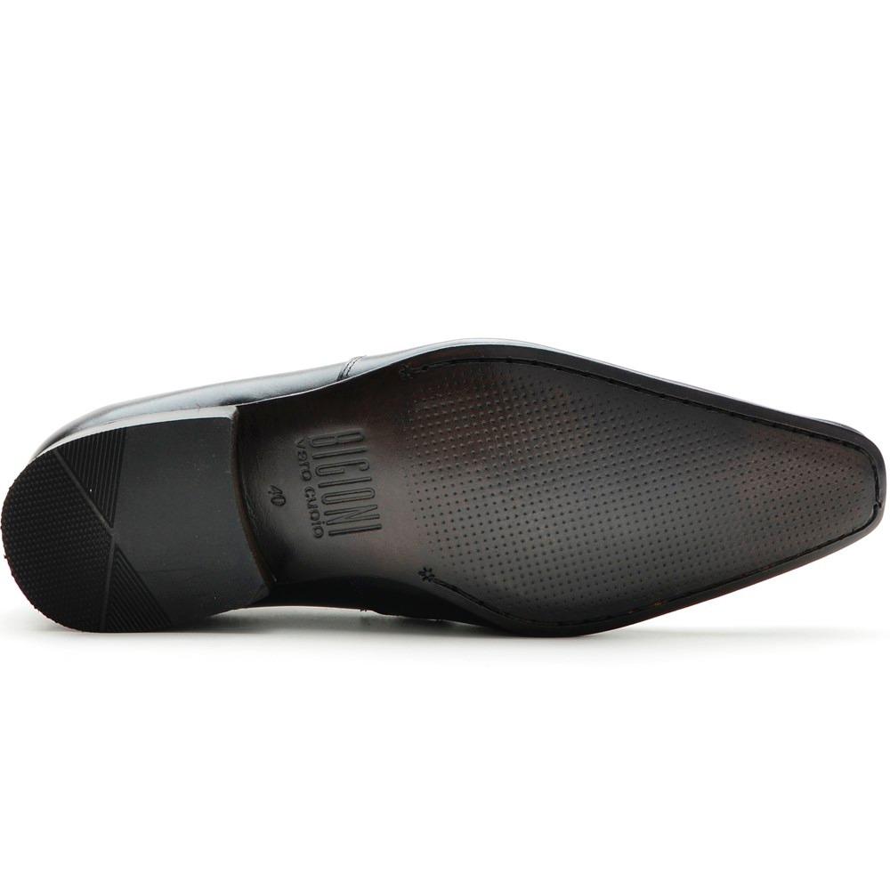 4c1ab2ed7 50% off - sapato social masculino em couro bigioni bico fino. Carregando  zoom.