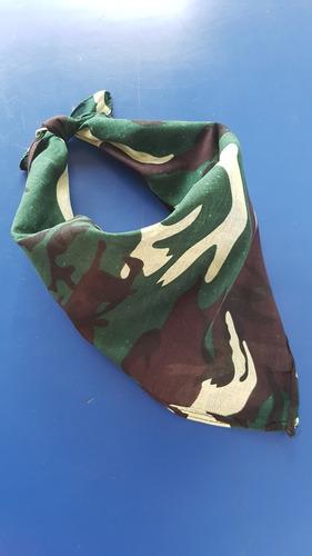 50 pañoletas 50x50cms bandanas camuflaje militar +envio