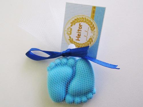 50 pares pezin sabonete-lembrancinha chá de bebe-maternidade