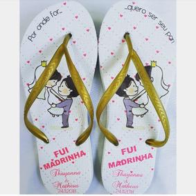 19e0cf5ad9 50 Pares Sandalias Personalizadas Para Casamento Promocional