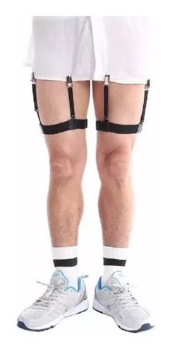 50 pares suspensorio cinta liga segura camisa unissex