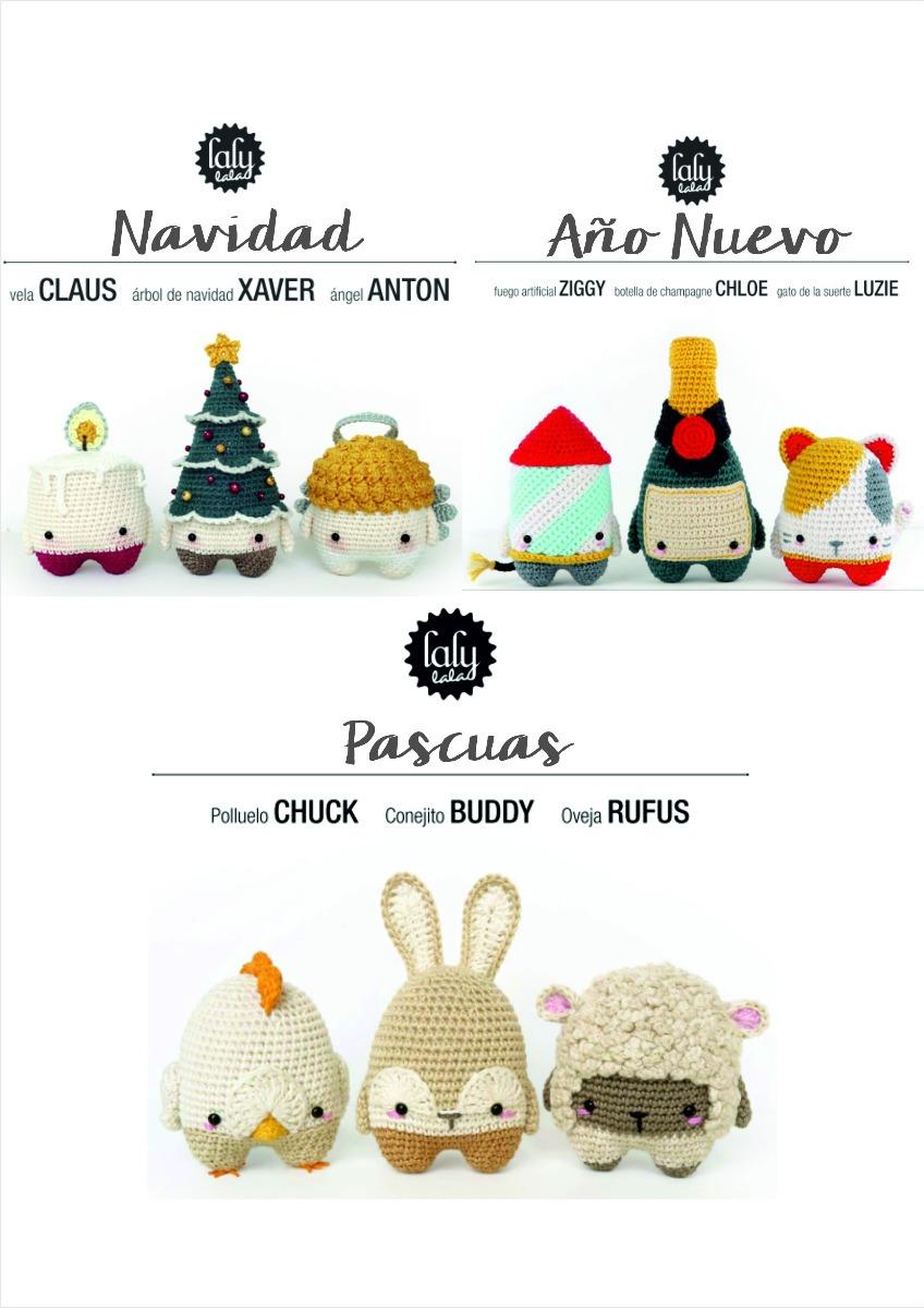 50 Patrones Lalylala + Regalo! Español Crochet Amigurumi - $ 150,00 ...