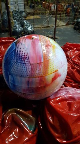 50 pelotas 25 cm pvc goma souvenir  $)