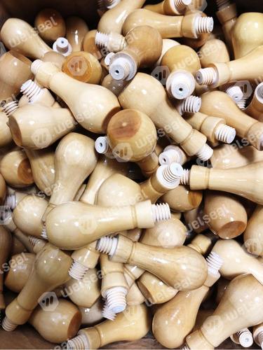 50 perillas con rosca para sellos de madera