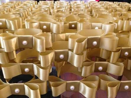 50 Porta Guardanapos Laco Chanel Dourado R 55 00 Em Mercado Livre