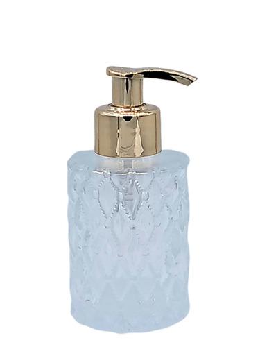 50 porta sabonete liquido vidro 130ml saboneteira luxo