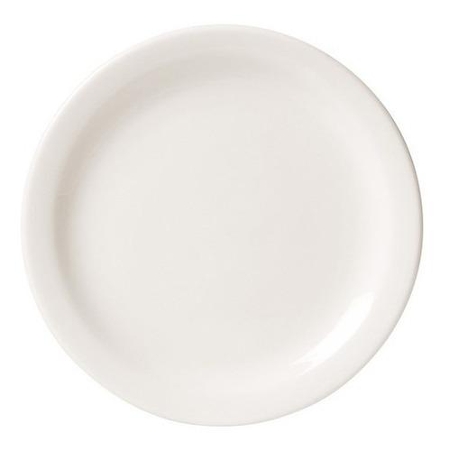 50 pratos de sobremesa porcelana restaurante buffet branco.