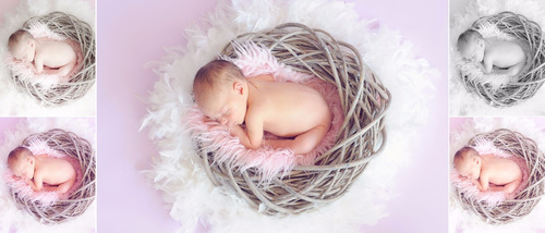 50  presets newborn profissionais para lightroom