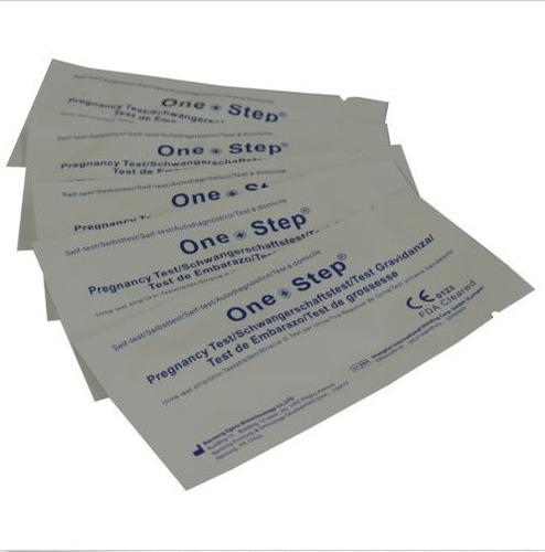 50 pruebas de embarazo one step 10miu hcg alta deteccion