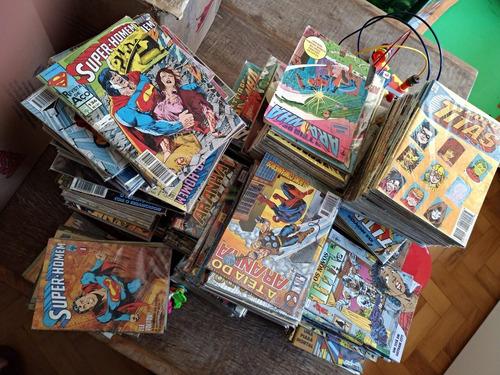 50 quadrinhos herois marvel dc hulk, x-men batman atacado-p