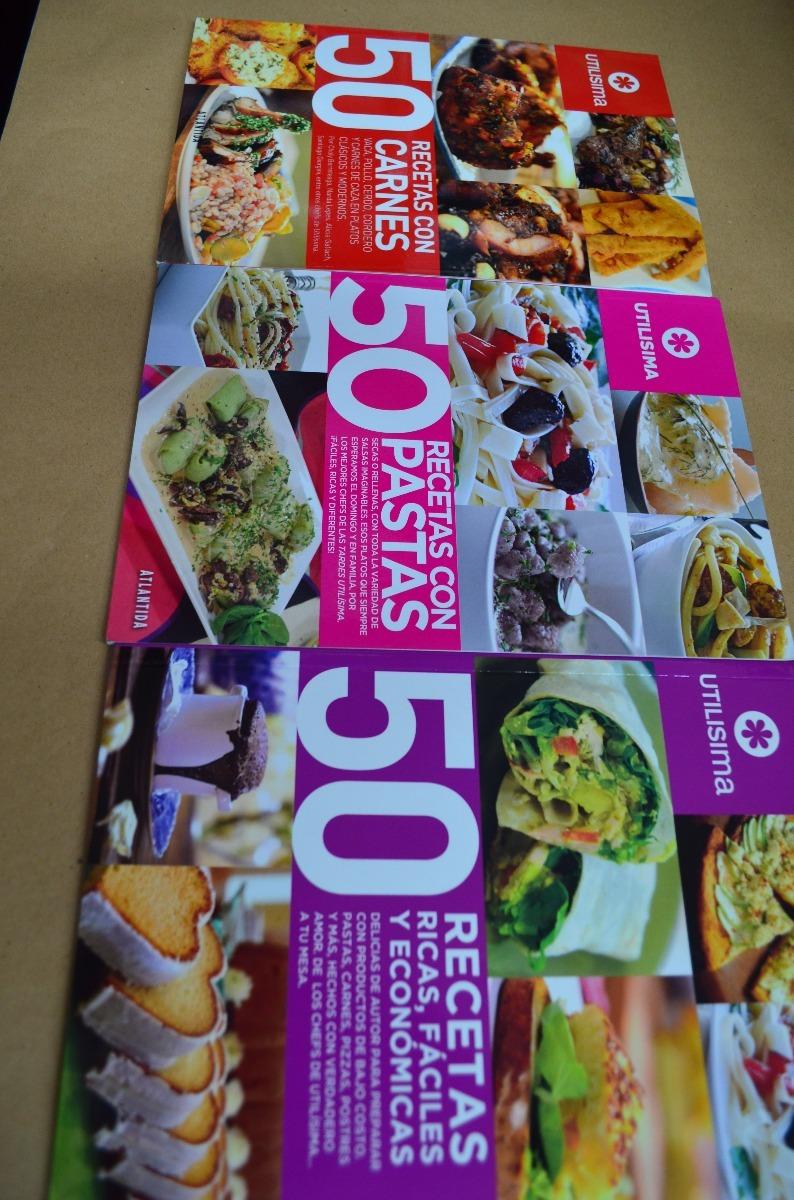 50 Recetas Revistas De Cocina Utilísima S