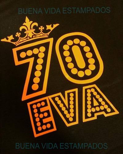 50 remeras souvenir 15años, publicidad,casamientos, flúo
