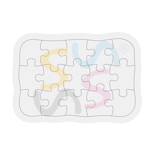 50 rompecabezas 15 piezas. sublimable sublimacion sublimar