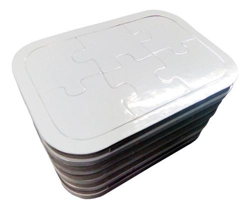 50 rompecabezas carton 6 pzs sublimable sublimacion sublimar