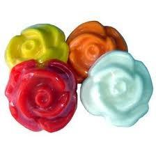 50 sabonete artesanal de flor mini