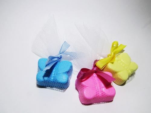 50 sabonetes lembrancinha nascimento , maternidade , meninas
