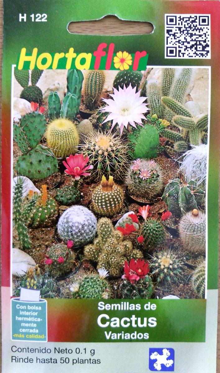 50 semillas de cactus diversos especies diferentes 19 for Donde venden cactus