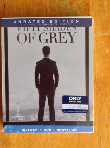 50 shades of gray blu ray steelbook best buy exclusivo