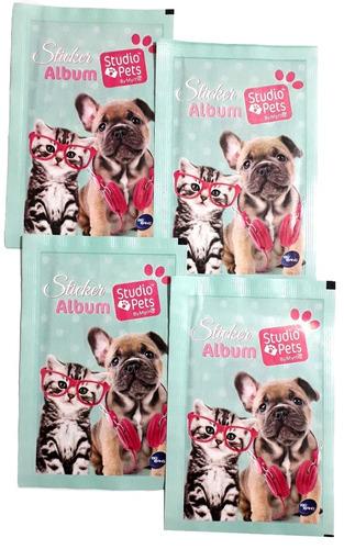 50 sobres de mascotas studio pets + envío / don lámina