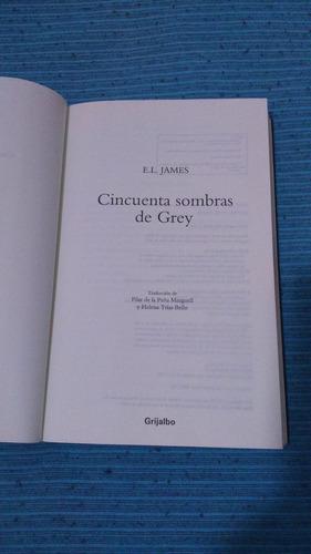 50 sombras de grey - e. l. james - impecable