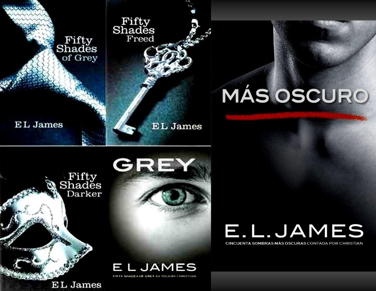 50 Sombras De Grey Saga Completa 6 Libros+kamasutra Ilustrad - Bs ...