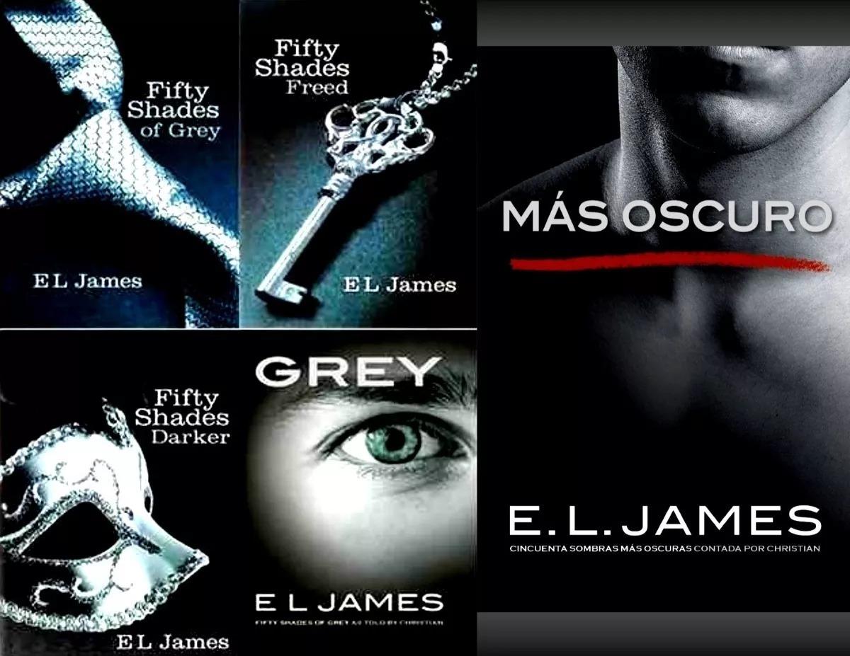 50 Sombras De Grey Saga Completa 6 Libros+kamasutra Ilustrad ...