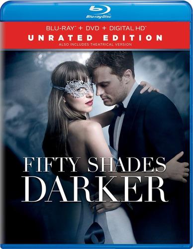50 sombras más oscuras, blu-ray+dvd, nueva y original